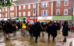Wet-Fanny-Brown (DaveCox) Tags: dance dancers border morris horsham mythago