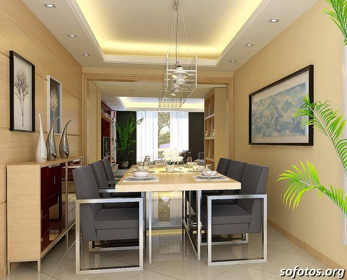 Salas de jantar decoradas (121)