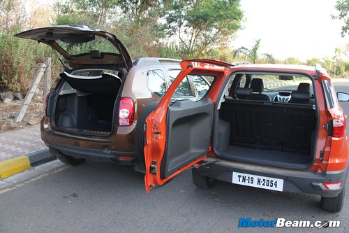 Ford EcoSport Vs Renault Duster 19