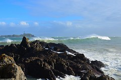 Itsoso txarra Mundekan (a_iturbe) Tags: sea island mar day bad clear bizkaia basque isla mala euskalherria euskadi vizcaya basquecountry paisvasco mundaka cantabrico itsasoa biscay izaro kantauri urdaibai irla txarra