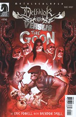 Metalocalypse: Dethklok vs. The Goon # 1 (chucklivid) Tags: comics dc spiderman superman collection batman comicbooks marvel goon dethklok metalocalypse