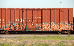 Betor , Paser (Select1200) Tags: railroad chicago art graffiti midwest trains boxcar graff benching