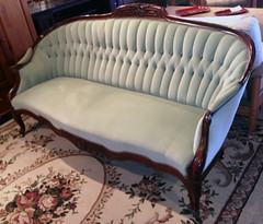 Victorian Sofa (homestylegalleries) Tags: living tucson furniture room victorian sofa consigned