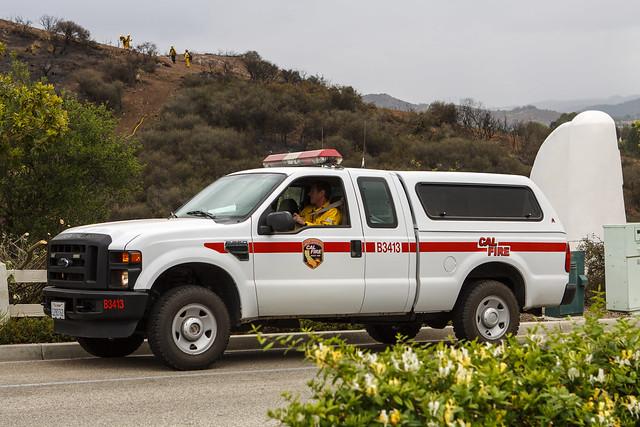 ca ford truck fire pickup wildfire f250 superduty dosvientos calfire a3413 springsfire