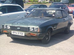 ford capri,falmouth july 2013. (RUSTDREAMER.) Tags: ford capri cornwall 16 falmouth gl 837 rustdreamer