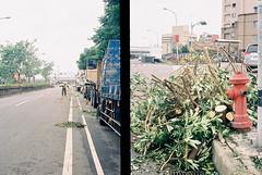街道恢復中 (年柑) Tags: 35mm kodak taiwan olympus 台灣 zuiko 135film pend2