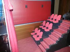 miniature movie theater (tanshirj) Tags: miniatures barbie bratz miniaturetheater roombox playscale livdoll monsterhigh flickrandroidapp:filter=none miniatureattractions