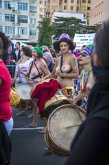Marcha das Vadias (Luiz Baltar) Tags: brasil riodejaneiro rj sexo papa mulheres ipanema jmj aborto luta baltar feminismo passeata nudez religiao blackblock rato imagensdopovo luizbaltar marchadasvadias blckbloc