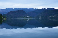 Lake Bled by morning(),Slovenia() (girl Taiwan199212) Tags: slovenia lakebled