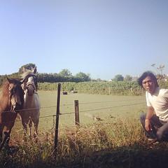 ชายไทยกับม้าเมืองนอก