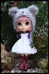 Chu Things dress + Mimsy bear Hat = Perfection
