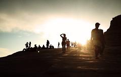 """""""La fantasia, l'invenzione, la creatività pensano, l'immaginazione vede"""" (Bruno Munari) (Sagittae2) Tags: sunset italy relax tramonto sicily sicilia immaginare guardare realmonte cercare mirare scalaturchi"""