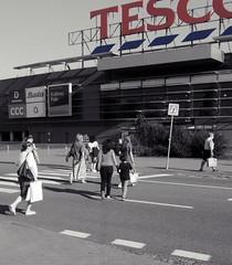 People Go Shopping (Kojotisko) Tags: street people streetphotography brno cc creativecommons czechrepublic streetphoto