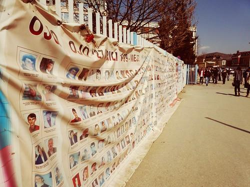Personnes disparues recherchées, Pristina, Kosovo