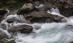 I really like watching water pouring over rocks (Alaskan Dude) Tags: travel washington rainforest wastate nationalparks olympicnationalpark solducfalls