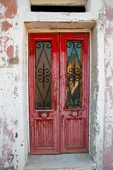 Red door (jimj0will) Tags: door venice italy green water colors contrast canal italian peeling paint italia colours painted canals worldheritagesite venetian flaking venezia flaky burano jimj0will jimjowill