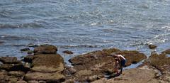 ¿Que es un cangrejo? (Días de Cámara) Tags: mar rojo nieto viejo niño pesca cubo rocas pequeño abuelo cangrejos cantabrico crustaceos