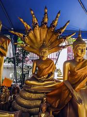 Buddha with Naga