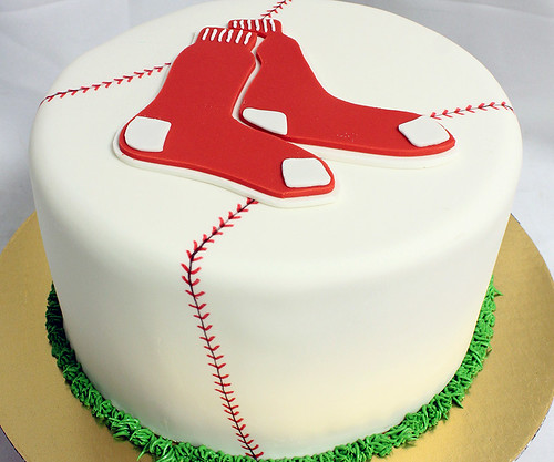 RedSox_Baseball_Cake