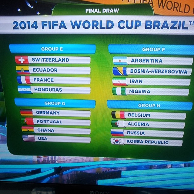 #fifa#world#cup#draw #brasil2014