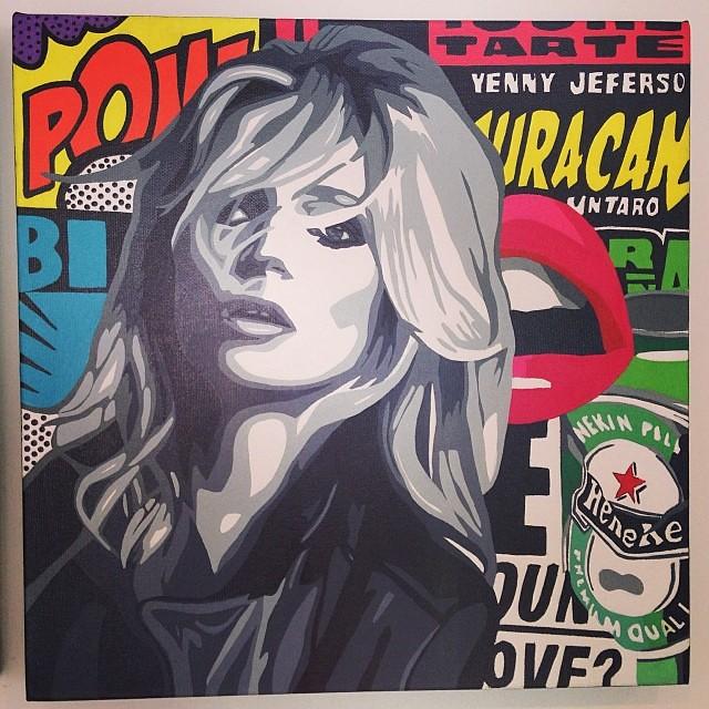 Sin Titulo de Denisse Vivanco $600 • Bazarte #bazarte #arteenlima #artinlima #arte #art #artist #artista #pintura #painting
