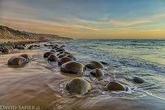 bolling ball beach (David Safier - redwoodimage) Tags: ocean california county beach ball coast waves slow bowling shutter mendocino hdr bowlingball mendo blowling