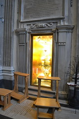 S Mary Magdalene shrine of the foot (Michael Tinkler) Tags: foot latin inscriptions resurrection reliquary benedictxvi stmarymagdalene reliquaries