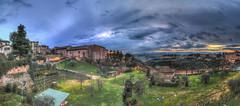 Siena Panorama - HDR (bohnengarten) Tags: italien italy panorama eos italia unesco siena toscana hdr toskana welterbe provinz 70d