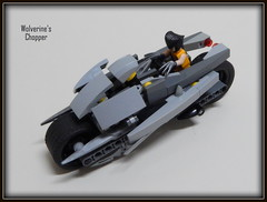 Wolverine Chopper (Johnny-boi) Tags: movie airplane star lego xmen vehicle wars clone minifigure