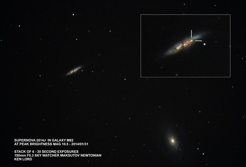 2014-01-31 Supernova 2014J in Galaxy M82