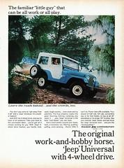 1965 Jeep Universal (aldenjewell) Tags: jeep ad universal 1965