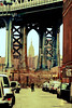 DUMBO 364 (p1ggyw1g) Tags: street usa newyork brooklyn dumbo brooklynbridge empirestate parkedcars infastructure