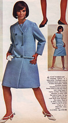 Spiegel 67 ss blue coat (jsbuttons) Tags: blue clothing 60s buttons sears coat womens 1967 catalog 67 sixties vintagefashion doublebreasted