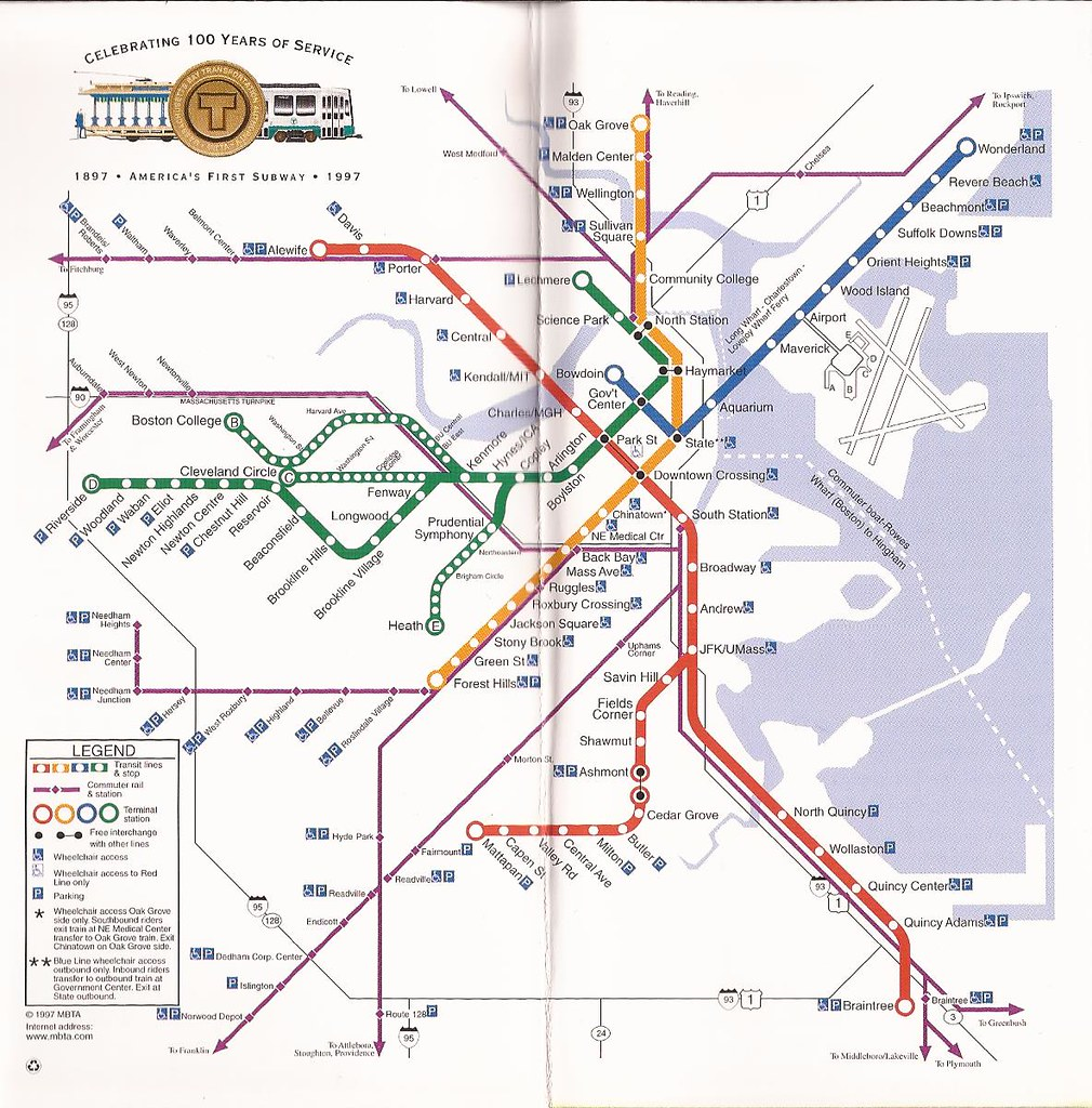 Alewife Subway Map.The World S Best Photos Of Map And Mbta Flickr Hive Mind