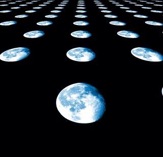 #CrazyCamera blue moon