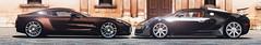Aston Martin One 77 & Bugatti Veyron 16.4 (nbdesignz) Tags: panorama 6 hot sexy cars beauty car digital photoshop one martin edited sony gimp 164 gran bugatti turismo 77 aston veyron lightroom gt6 polyphony ps3 playstation3 gtplanet nbdesignz