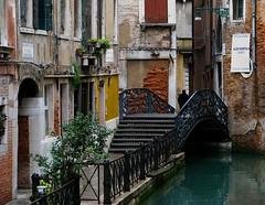 Venezia / Venice (bjorbrei) Tags: bridge venice italy water canal italia oldbuildings oldtown venise venecia venezia venedig oldcity oldhouses absolutegoldenmasterpiece