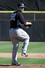 Fred Lewis Yankee Reliever (dbadair) Tags: training spring baseball dunedin yankees 2014 gametypesampsectiontypecareerampstattype2ampseason2014amplevelall gametypesa