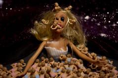 god of the infant horde 3 (Grampa Caligula II) Tags: toys death dolls apocalypse barbie murder pentaxkxmacabre