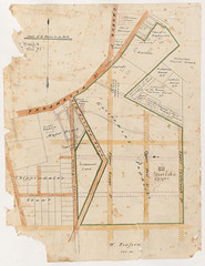Government Paddocks Old Botany Road and Parramatta Street (State Records NSW) Tags: blackandwhite map archives newsouthwales staterecordsnsw