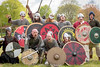 [2014-04-19@15.35.48a] (Untempered Photography) Tags: history costume helmet medieval weapon sword knight shield armour reenactment combatant chainmail canonef50mmf14 perioddress platearmour mailarmour untemperedeye canoneos5dmkiii untemperedeyephotography glastonburymedievalfayre2014