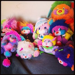 All my thrifted Popples (one was from ebay ) #popple #thrifted #thriftscore #collection #play #plushie #toys #vintage #80s #colorful #colours #cute (elasticcamel) Tags: square squareformat mayfair iphoneography instagramapp uploaded:by=instagram