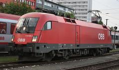 117468 1116 026 Salzburg Station 26.06.09 (31417) Tags: salzburg austria siemens obb 1116 1116026