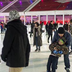 Ice Skaters (CasualCapture) Tags: city nyc newyorkcity winter people urban manhattan candid iceskating february bryantpark wintervillage therinkatbryantpark