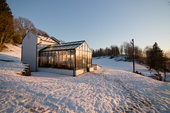 Gamlehaugen (Erna Bouillon) Tags: winter lake snow castle ice norway norge hiver lac neige bergen icy hordaland glace sn norvege gel innsj gamlehaugen cristaux kingsresidence