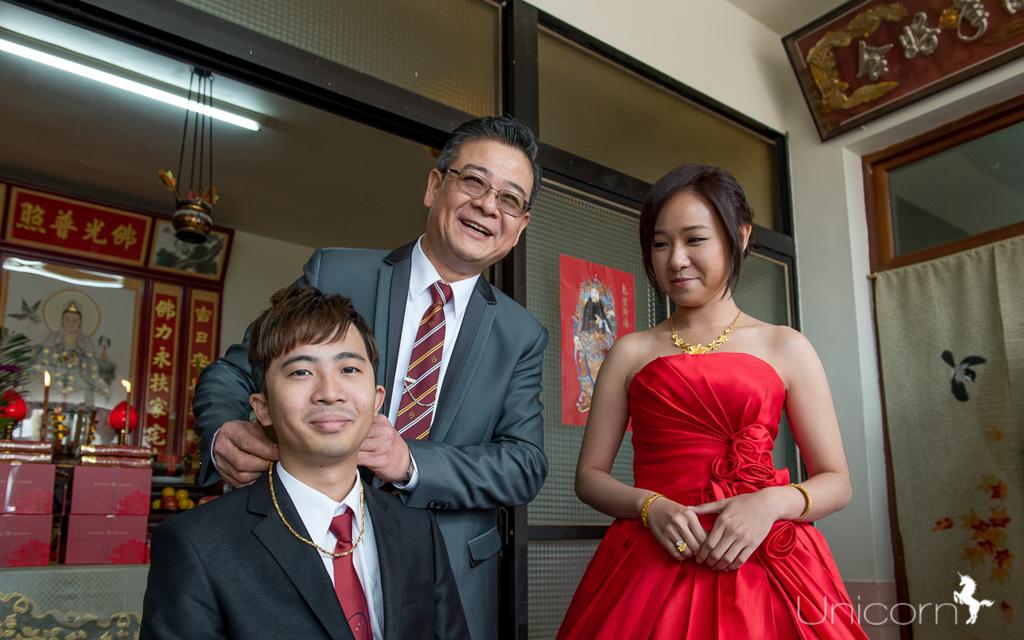 《台中婚攝 》嘉譽 & 旻蓁 婚禮攝影-自宅流水席-婚攝一条
