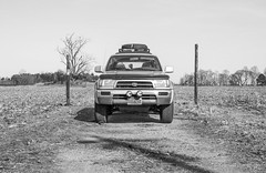 1998 Toyota 4Runner (KyleSealPhotography) Tags: life 2001 original 2002 roof classic me wheel canon four drive virginia 2000 4x4 snake 4 country 1996 4wd tire 1999 dont rack toyota 4runner 5d 1997 1998 kc tread hilites yota plastidip 5dc t4r