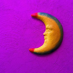 Media Luna (Marco Wence) Tags: pink moon wall pared idea colorful rosa surreal luna mexican half handcraft halfmoon vividcolors 2015 mexicancolors marcowence