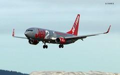 G-GDFS BOEING 737-800 (douglasbuick) Tags: 2 flickr glasgow aircraft jet panasonic boeing malaga b737800 dmcfz50 egpf ggdfs