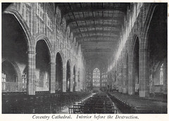 Coventry Cathedral Interior Before the